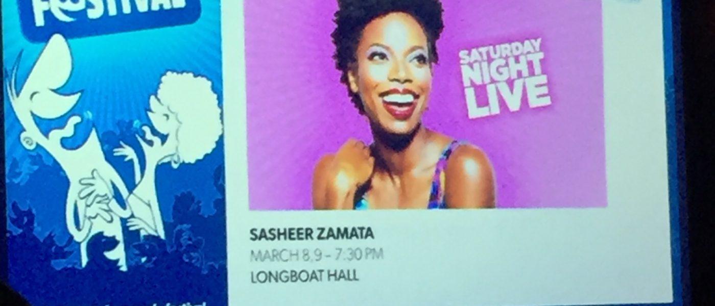 Toronto Sketch Comedy Festival Presents SNL's Sasheer Zamata